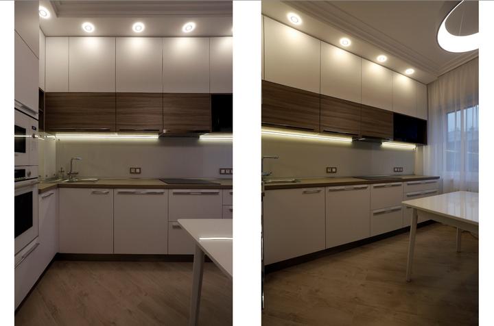 Кухонный гарнитур до потолка