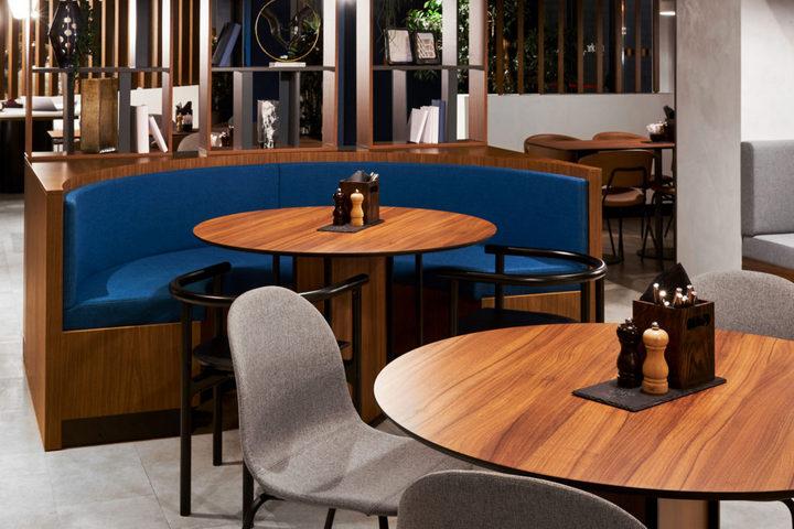 Оформление зала ресторана