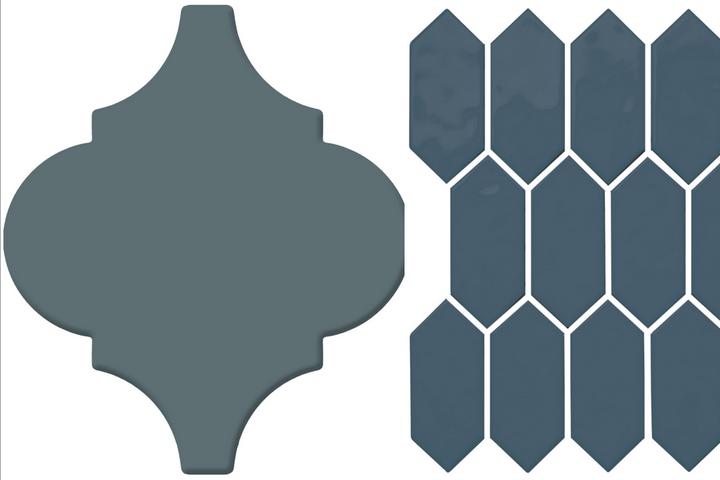Варианты синей плитки
