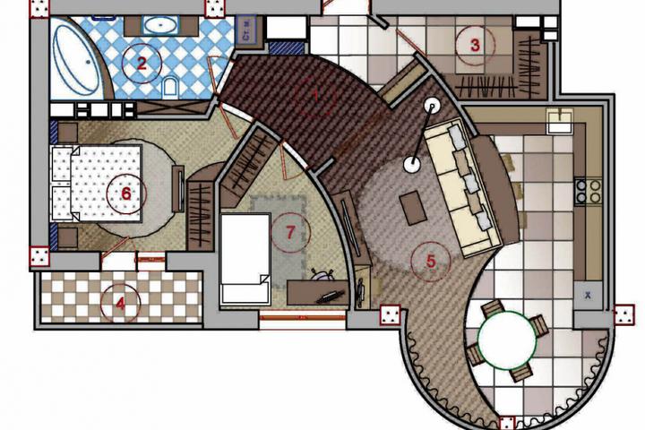 Конструктивные особенности квартиры