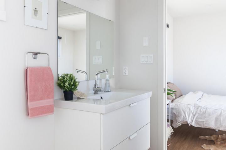 Ванная комната и главная спальня