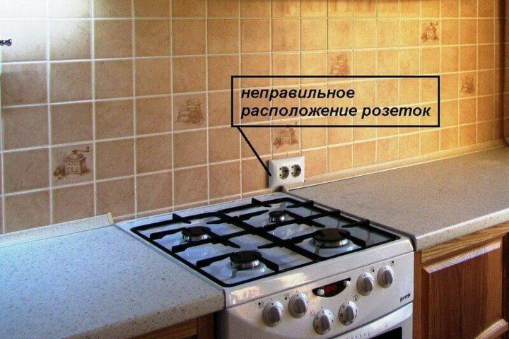 Розетка для газовой плиты