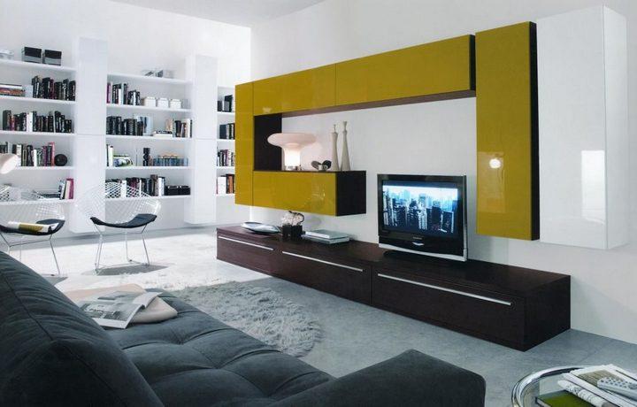 Цветная корпусная мебель