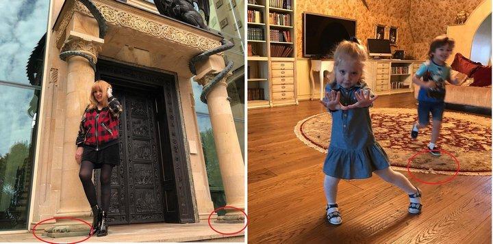 В замке есть отдельный хозблок для прислуги