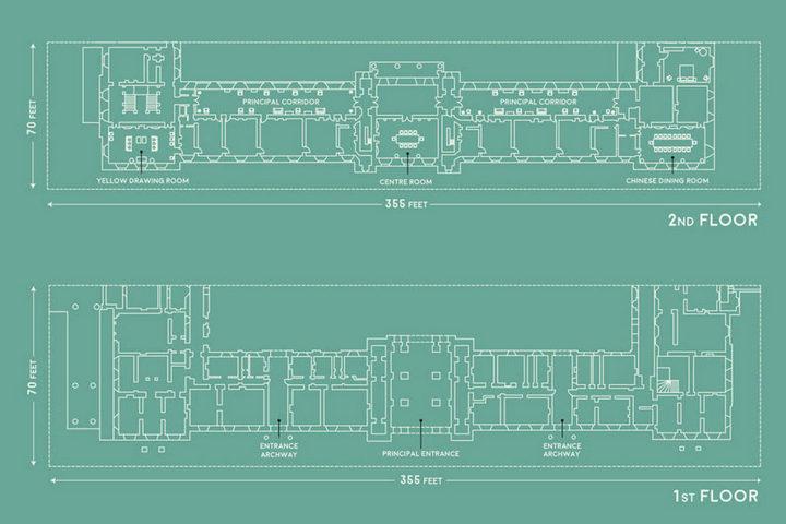 Планы 1 и 2 этажей