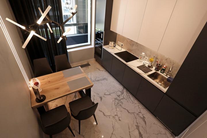 Кухонный гарнитур в современном стиле