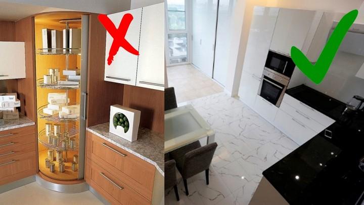 Системы хранения в кухне