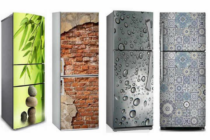 Декорированные холодильники