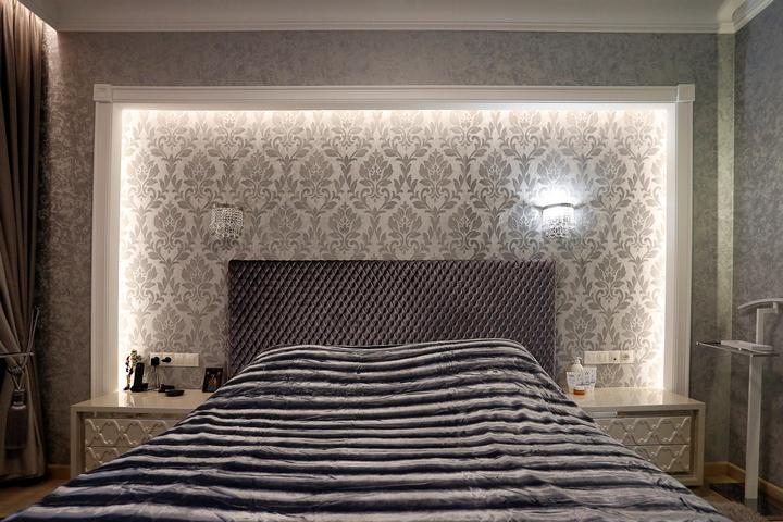 Подсветка в спальной зоне