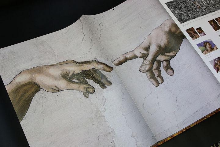 Фрагмент Сикстинской капеллы