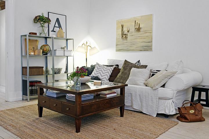 Винтажная мебель в скандинавском стиле