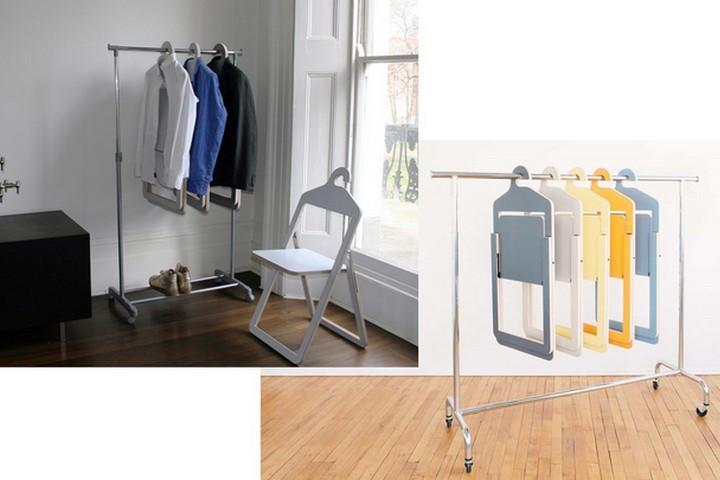 Набор вешалок-стульев