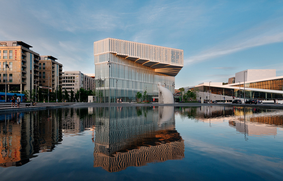 Национальная библиотека в Осло