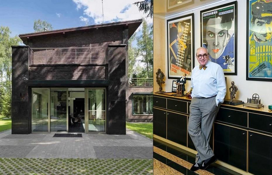 Современный дом адвоката Добровинского