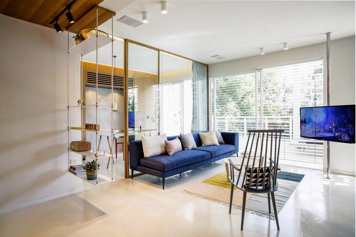 Открытое пространство квартиры