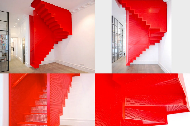 Яркая лестница-перевертыш
