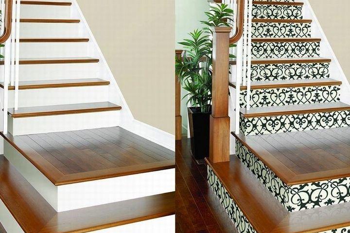 Классическая лестница с орнаментом