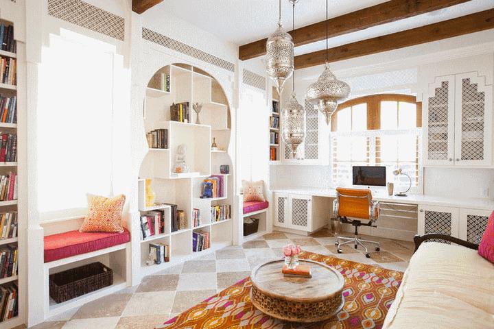 Гостиная в стиле Марокко