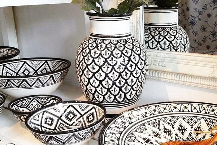 Посуда в марокканском стиле