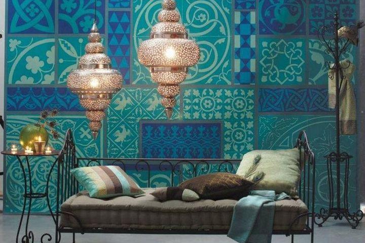 Люстры и светильники в марокканском стиле