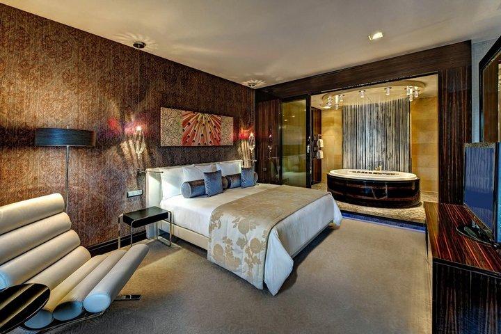 Смешение стилей в гостиничном номере