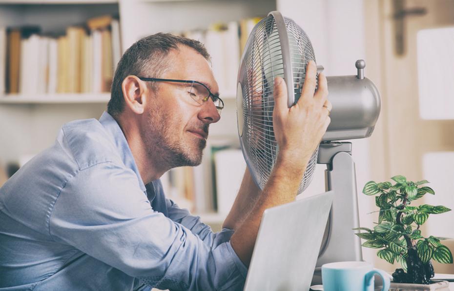 Способ борьбы с жарой в квартире