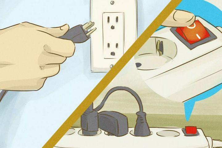 Отключение электропитания