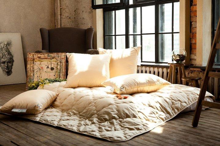 Спальное место на полу