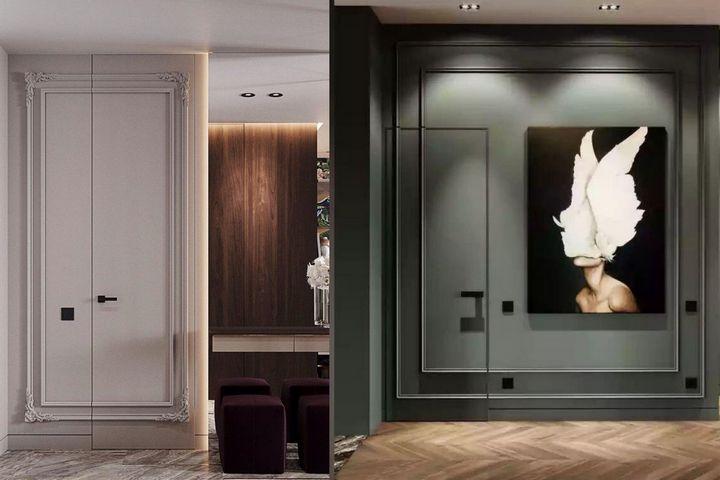 Потайные двери и сложный декор