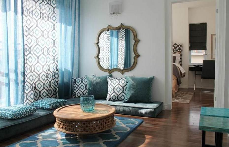 Восточные элементы в современной квартире
