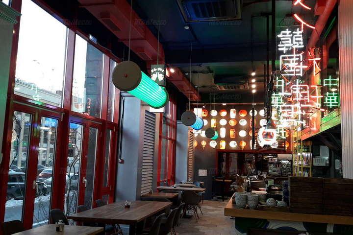 Китайский колорит ресторана Umami