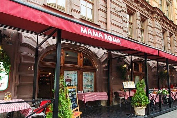 Итальянский ресторан Мама Рома на Невском