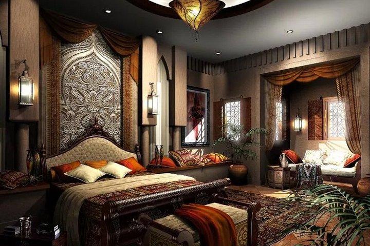 Арабский стиль в спальне