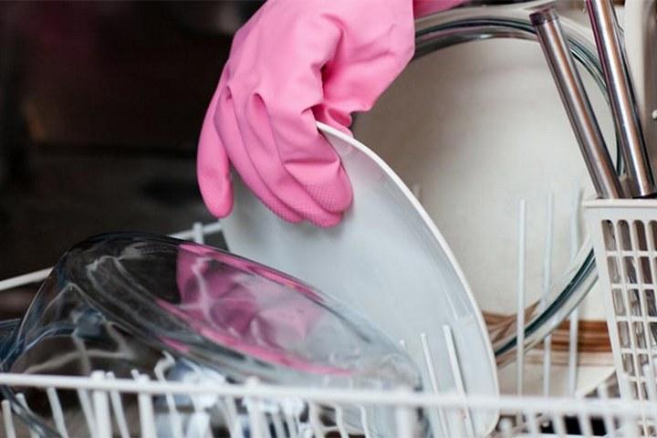 Мойка посуды в машинке