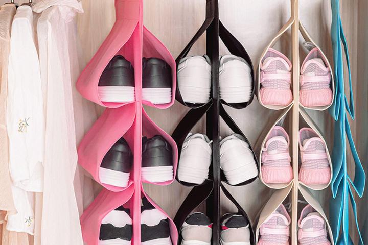 Подвесные карманы для обуви