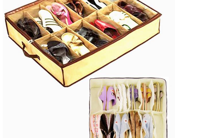 Органайзер для сезонного хранения обуви