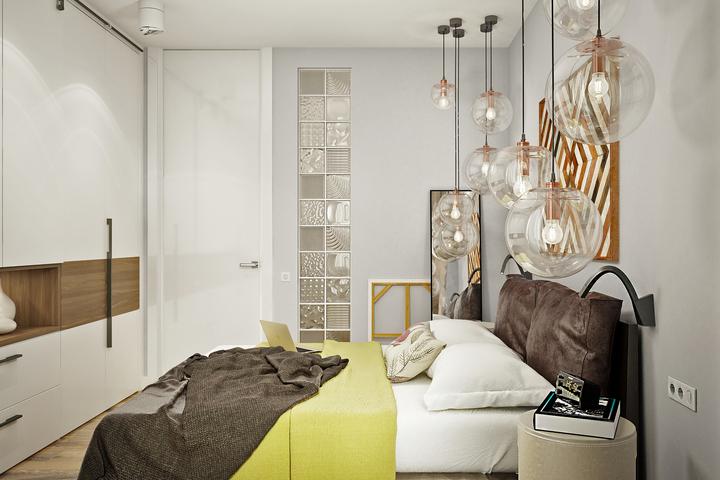 Базовая мебель в спальне