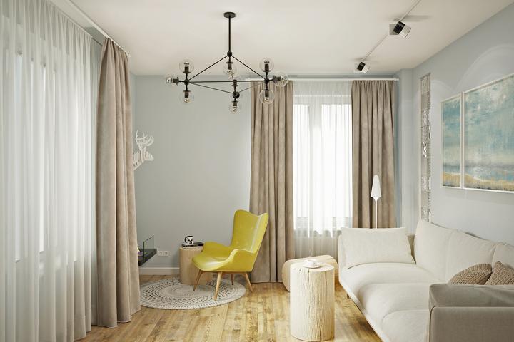 Базовая мебель в гостиной