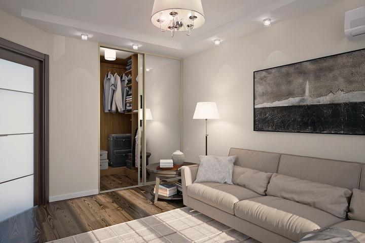 Базовая гостиная-спальня