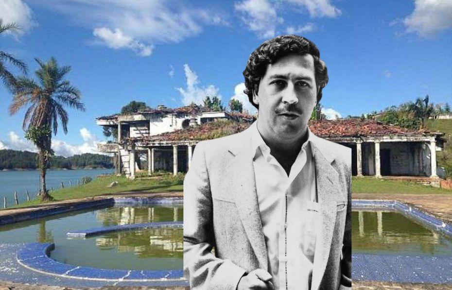 Пабло Эскобар - архивное фото