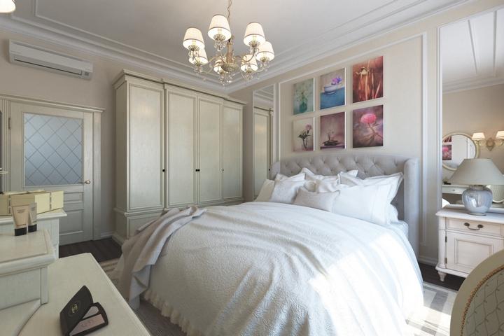 Спальня с деталями