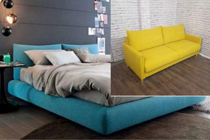 Кровать Мирра и диван Тулье