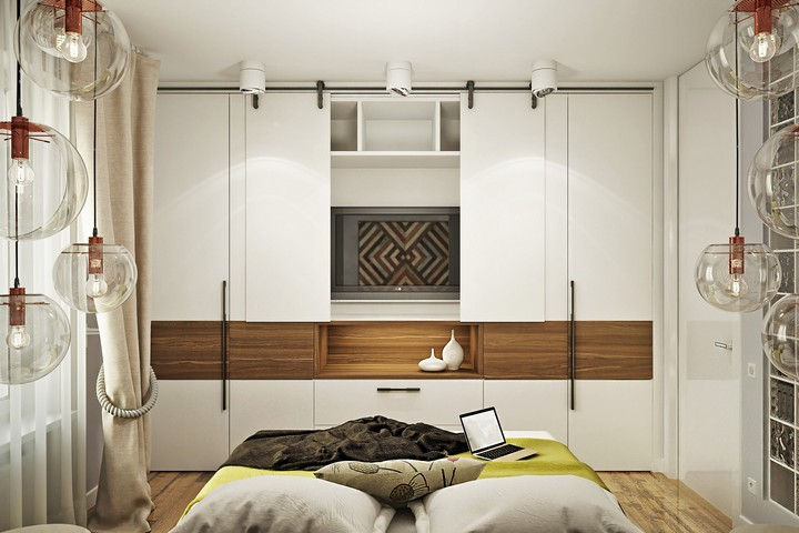 Встроенный шкаф-стенка