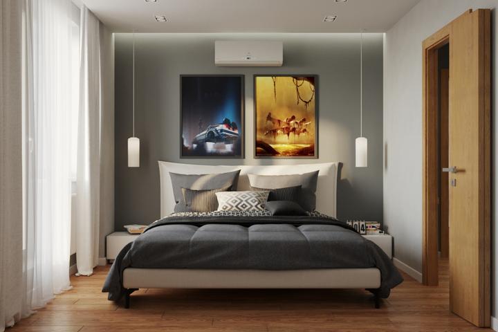 Кровать с невесомым основанием