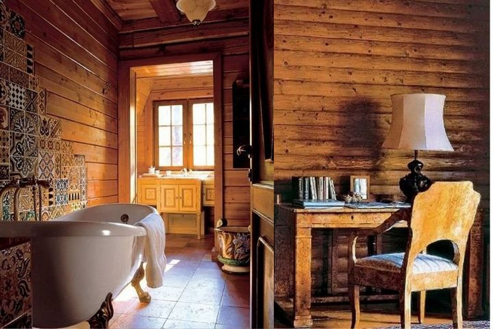 Ванная комната и винтажная мебель