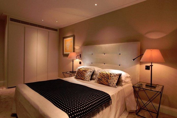 Локальный свет в спальне