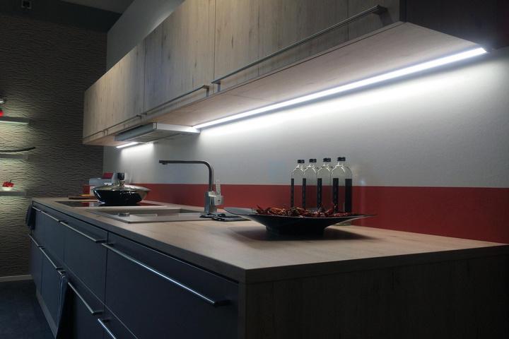 Подсветка рабочей поверхности кухни
