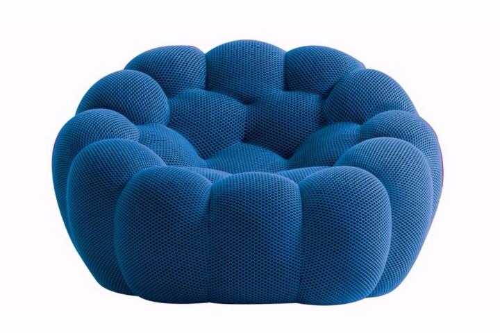 Кресло-капитон с круглой стежкой