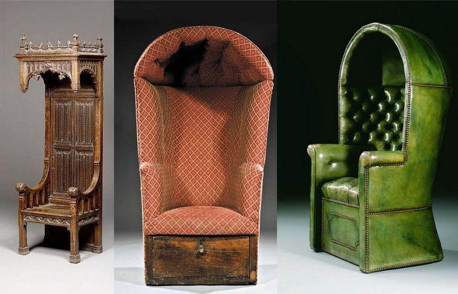 Традиционные кресла-коконы