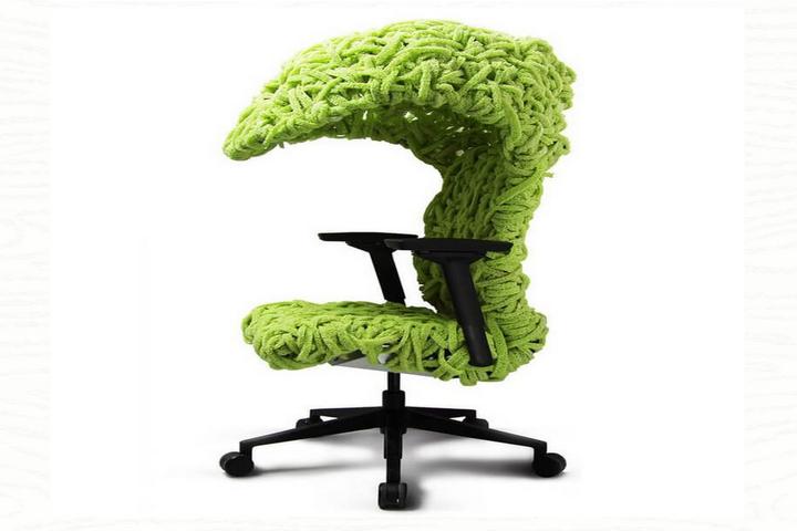 Офисное кресло-кокон китайского дизайнера